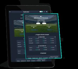 como analizar mercados en directo en una tablet con betpractice
